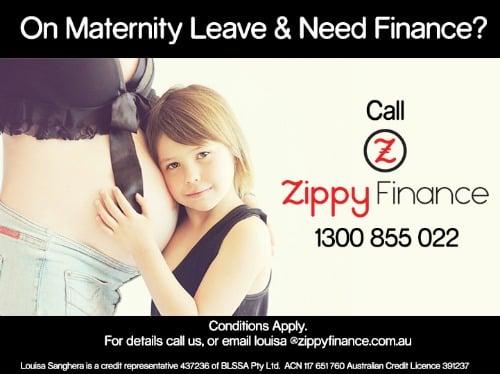 need finance on maternity leave