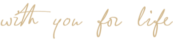 with you for life graphic